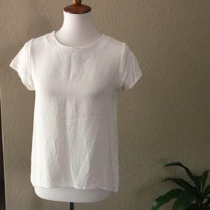 Cuyana silk blouse